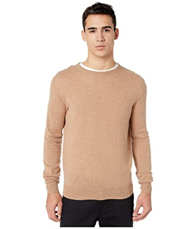 J.Crew Everyday Cashmere Crewneck Sweater in Solid (Heather Toffee) Men
