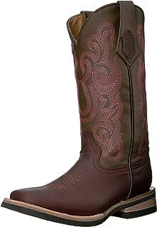 Ferrini Women's Ladies Maverick Chocolate Square Toe Western Boot