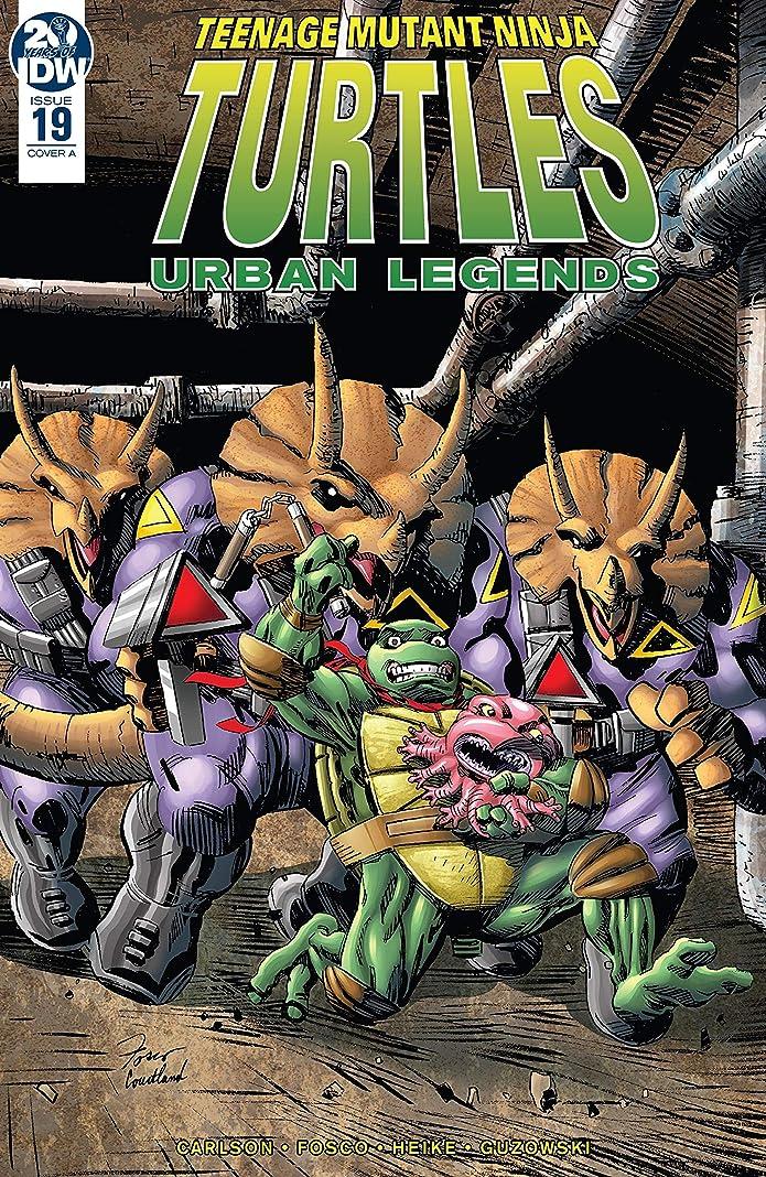 絶対になめらか許容Teenage Mutant Ninja Turtles: Urban Legends #19 (English Edition)