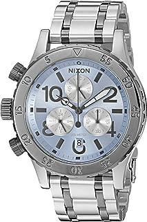 Nixon Women's '38-20 Chrono' Quartz Stainless Steel Watch, Color:Silver-Toned (Model: A4042363-00)