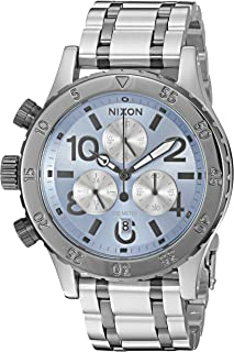 Nixon Women's '38-20 Chrono' Quartz Stainless Steel Watch, Color:Silver-Toned (Model: A4042363-00)