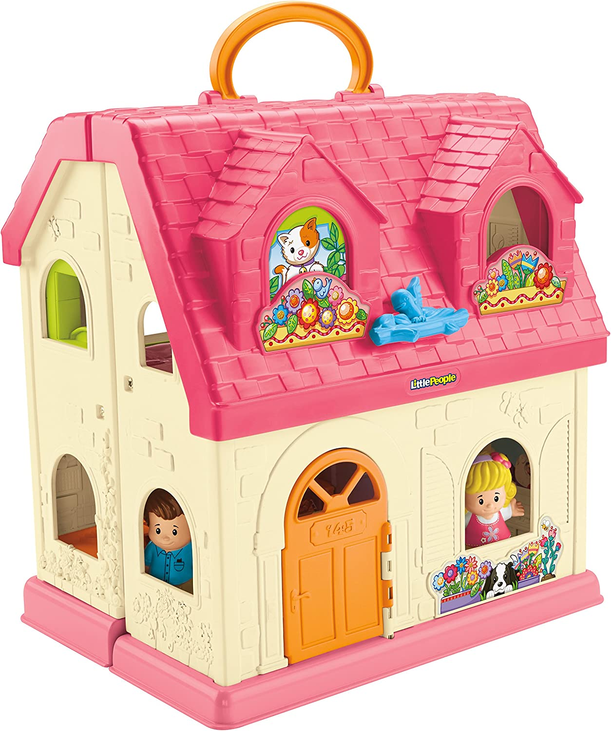 FisherPrice Little People Surprise and Sounds Home, French