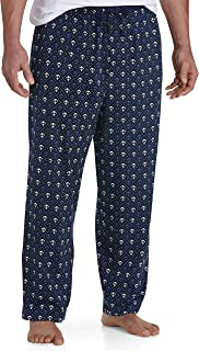 Big and Tall Anchor-Print Knit Lounge Pants Navy