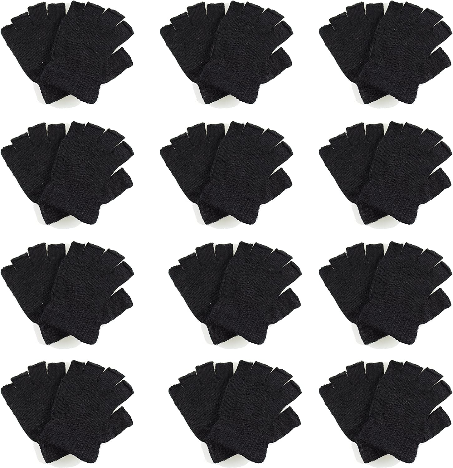 Gelante Classic Free Shipping New Adult Winter Fingerless Who service Magic Knitted Gloves