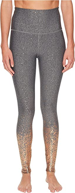 Beyond Yoga - Alloy Ombre High-Waisted Midi Leggings