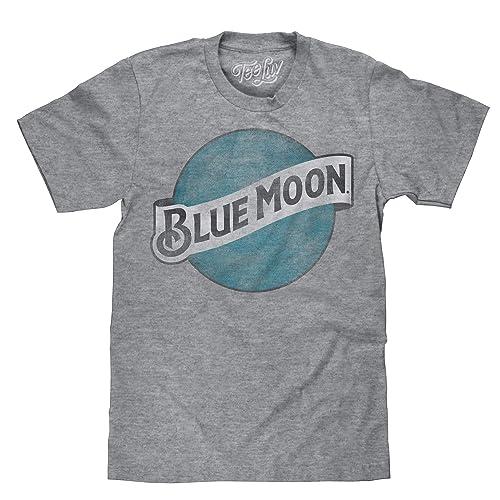a3bd7bdc1f2 Blue Moon Brewing Company Color Logo Beer T Shirt
