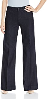 NYDJ Womens 10737T Teresa Trouser Jeans in Premium Denim Jeans - Blue