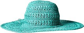 Scala Women's Big Brim Crocheted Toyo Hat