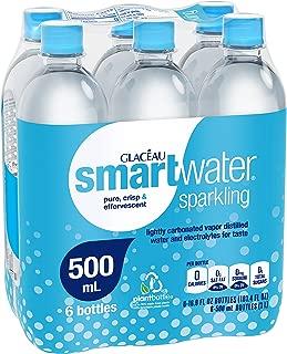 smartwater sparkling 500mL bottle (Pack of 6)