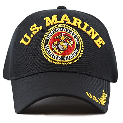 4182e5e068381 THE HAT DEPOT Official Licensed 3D Embroidered Military One Size Cap