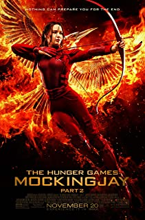 Katniss - The Hunger Games: Mockingjay Part 2 (2015) Movie Poster, 24 x 36 Inches - Theater Quality (Thick 8 Mil) - Jennifer Lawrence, Josh Hutcherson, Liam Hemsworth