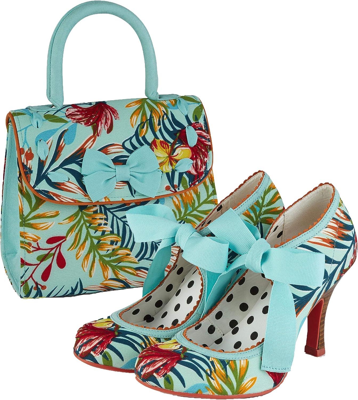 Ruby Shoo Santiago Damen Handtasche Blau