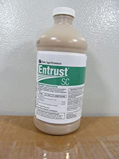 Entrust SC Insecticide 1 Quart - Certified OMRI Organic - Spinosad
