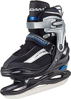 Nijdam Eishockeyschlittschuhe Iceskater Icehockey Schlittschuhe größenverstellbar - Patines de Patinaje sobre Hielo