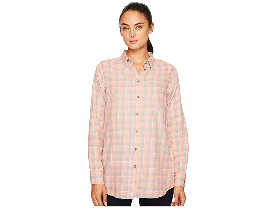 Fjallraven High Coast Flannel Shirt (Lily/Fog) Women