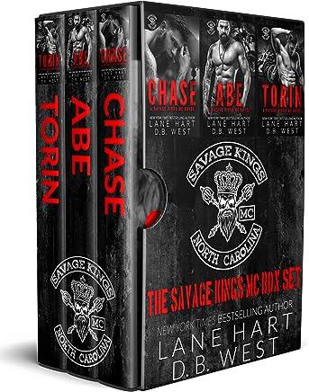 Savage Kings MC Box Set: Books 1-3 (English Edition)