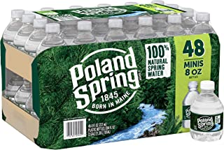 Poland Spring Water, 8 Fl Oz (Pack of 48)