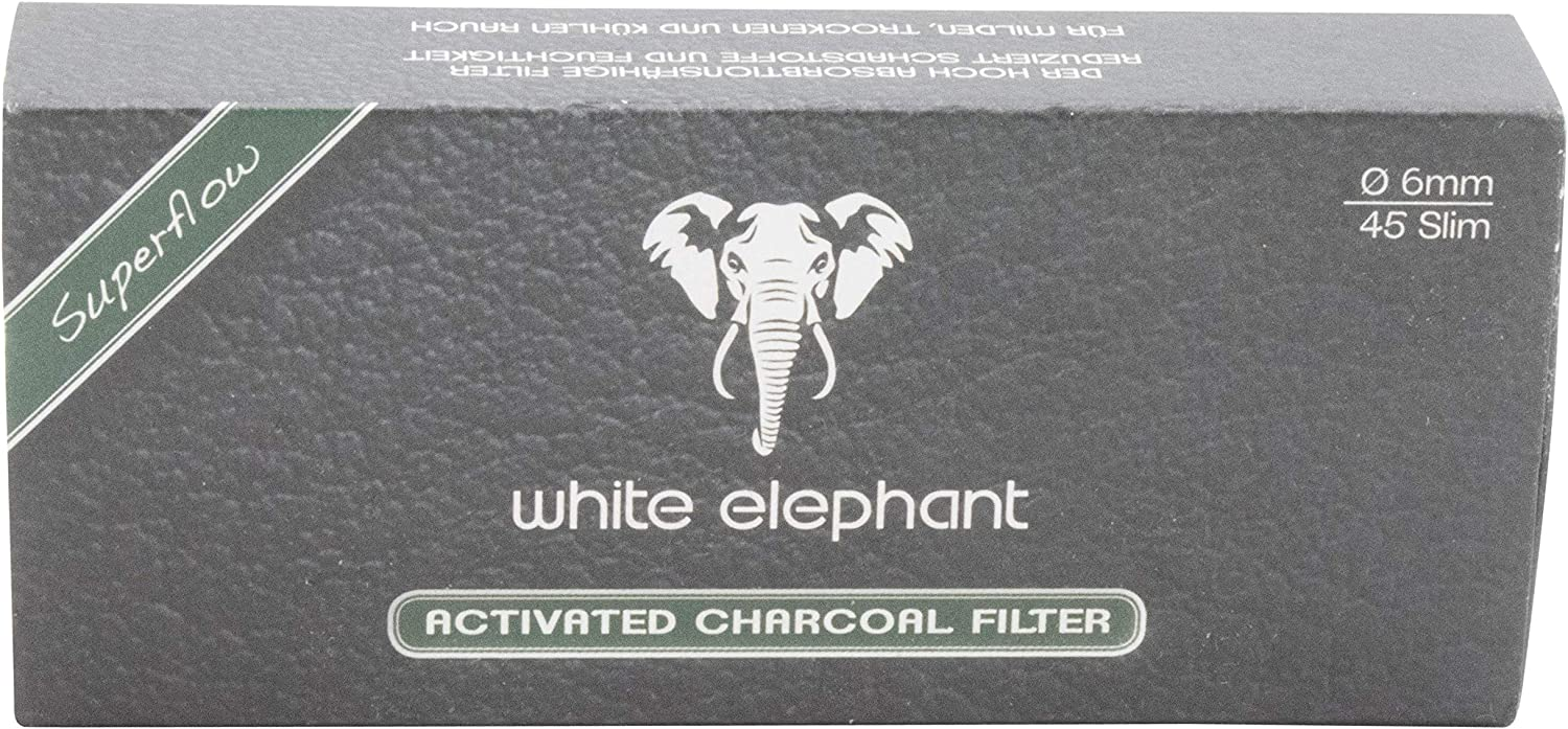 White Elephant 6 mm San Antonio Mall Charcoal Pack Filters Max 78% OFF 45