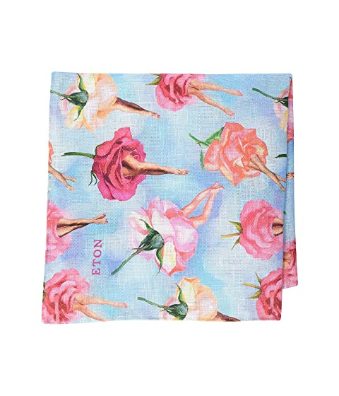 Eton Rose Pocket Square