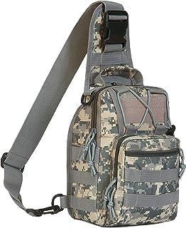 FAMI Outdoor Tactical Bag Backpack, Military Sport Bag Pack Sling Shoulder Backpack Tactical Satchel for Every Day Carry