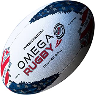Omega Rugby Ball - USA Flag