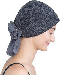 Chapeau Femmes Turban Inde Chapeaux R/étro Musulman Beanie Chaud Wrap pour Perte de Cheveux Cancer Ssowun Turban Foulard Chimio