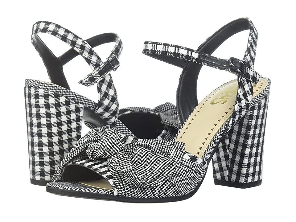 Circus by Sam Edelman Eva (Black/White Gingham/Micro Gingham) Women