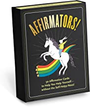 Affirmators! 50 Affirmation Cards to Help You Help Yourself - Without The Self-Helpy-Ness!
