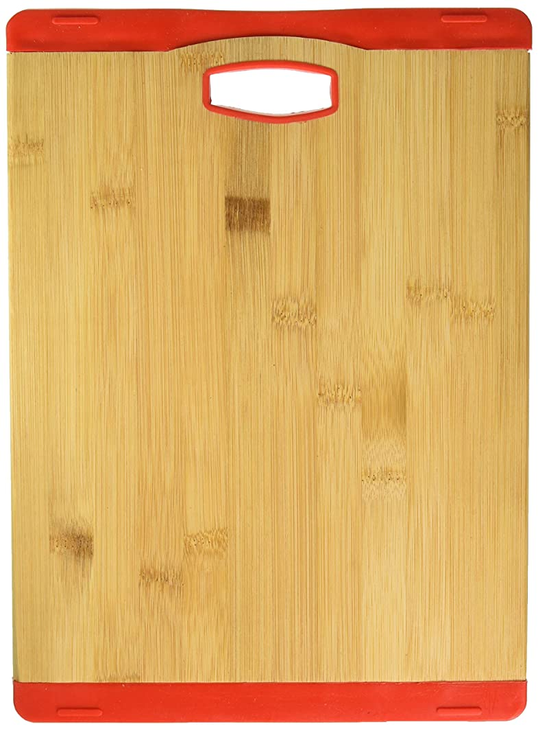 Iron Chef 861259 Cutting board, Large, Red