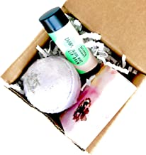 Zaaina Mini Spa Gift Set under 15. Little Luxuries Spa Gift Box for Bridal Shower Bridesmaids Gifts. Holiday Gift Box | Christmas Eve Gift Box | Small Gift Ideas Bath Bomb Soap Lip Balm