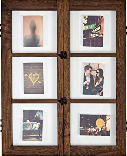 Stone & Beam Modern Windowpane Wood Picture Frame, 29.6