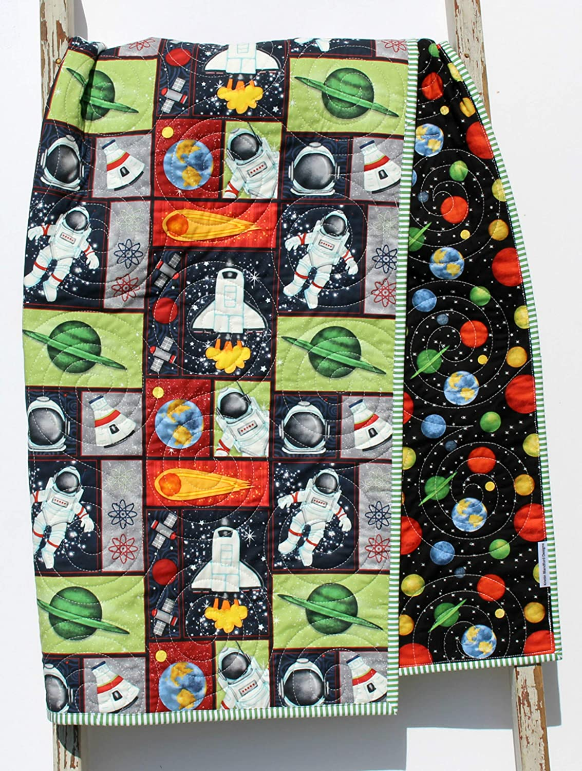 Planets Quilt Space Crib Bedding N Sale item Ranking TOP4 System Science Solar
