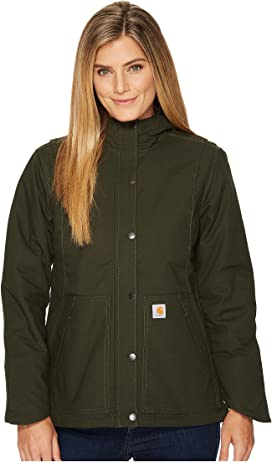 db2244313cfd7 Carhartt Weathered Duck Wesley Coat at Zappos.com