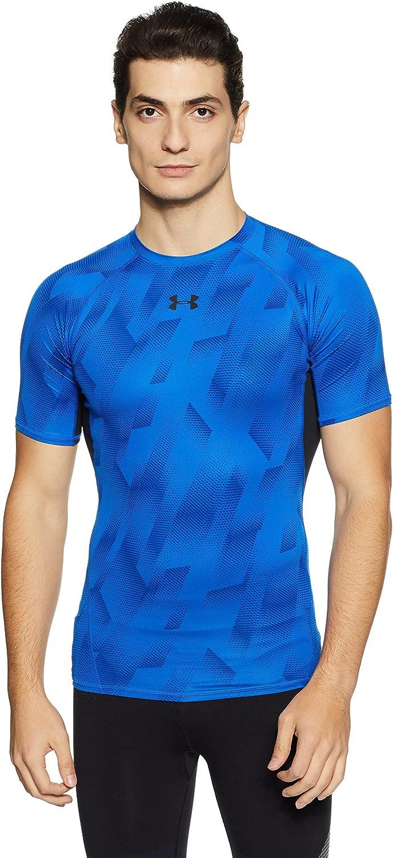Max 62% OFF Under Armour Oklahoma City Mall Men's Heatgear Printed Short Sleeve Compress