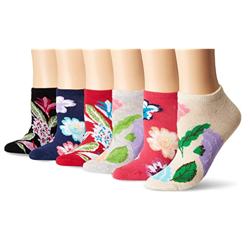 Mens athletic low cut Ankle sock tropical floral bouquets Short Lightweight Sock