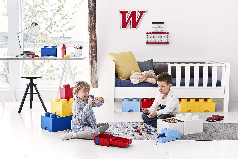 Room Copenhagen L4005Y.00 40051732 Storage Brick 4 mit Schubladen, Gelb, 25 x 25,2 cm Weiß
