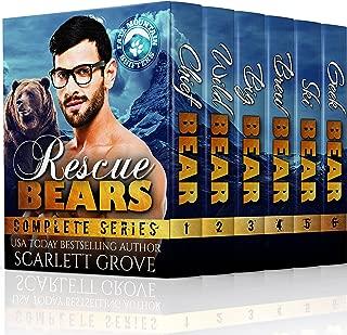 Rescue Bears Boxed Set (Paranormal Suspense Shifter Romance)