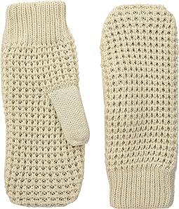 Hat Attack - Waffle Knit Plush Mitten