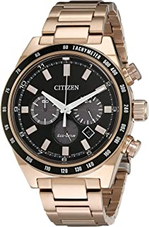 Citizen Men's CA4203-54E Sport Chronograph Analog Display Japanese Quartz Rose Gold Watch
