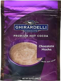 Ghirardelli Hot Cocoa Mix Mocha 10.5 oz bag pack 6