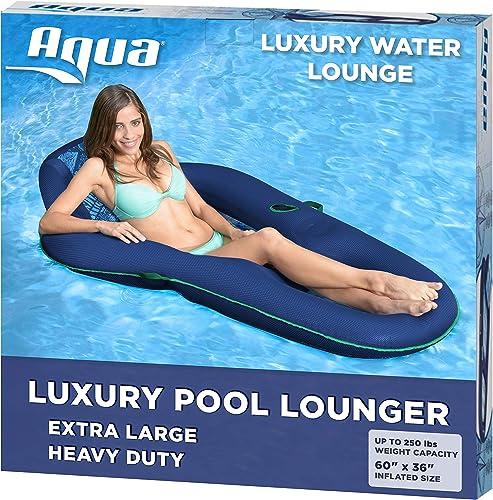 Aqua Leisure-Domestic Toys Premium Recliner Comfort Lounge in Batik by Aqua Leisure by