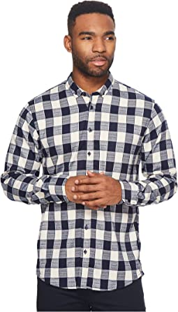 Publish - Bernhard Premium Brushed Flannel Button Down Shirt