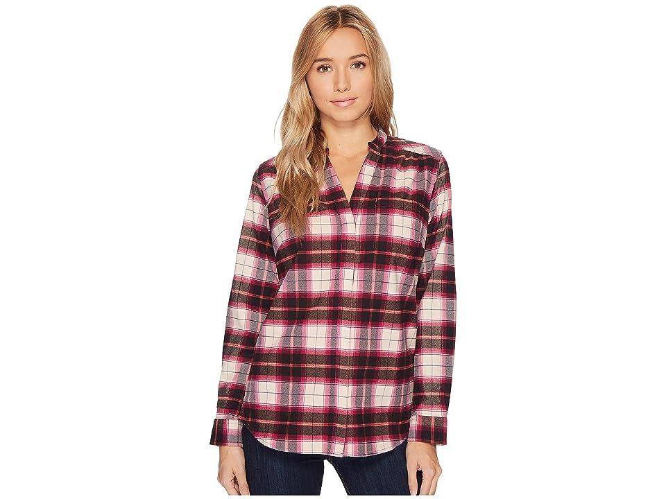 Royal Robbins Merinolux Plaid Flannel (Raspbery Crush) Women