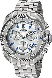Invicta Men's JT Quartz Stainless-Steel Strap, Silver, 24 Casual Watch (Model: 26419