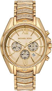 Whitney Stainless Steel Watch With Glitz Accents