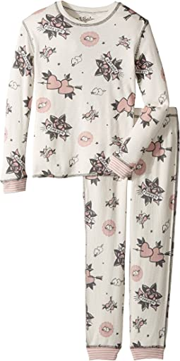 P.J. Salvage Kids - Forever and Ever Jammie Set (Toddler/Little Kids/Big Kids)