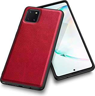 Kqimi Case for Samsung Galaxy Note 10 lite, Premium Leather Slim Stylish Soft Grip Shockproof Anti-Scratch Protection Cove...