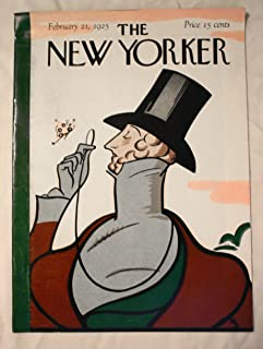 New Yorker, February 21, 1925, the