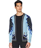 Versace Collection - Horse Print Silk Sweater
