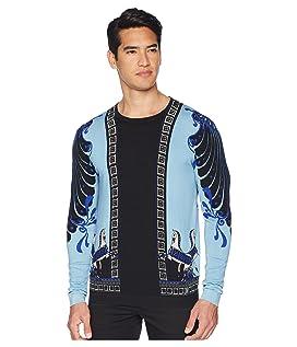 Horse Print Silk Sweater